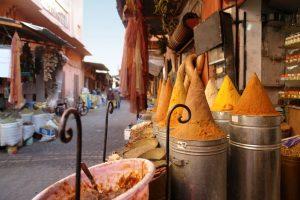 Maroko targ - glinka marokańska