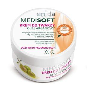 Medi Soft - Krem do twarzy olej arganowy
