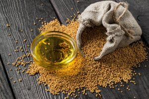 Olej musztardowy - gorczyca