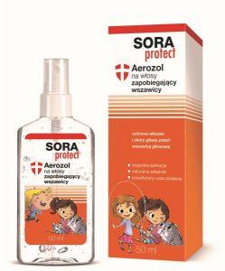 Płyn SORA PROTECT na wszawicę
