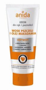 Krem 100ml wosk pszczeli i olej makadamia Anida