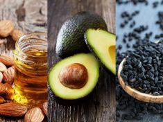 Olej migdałowy awokado czarnuszka