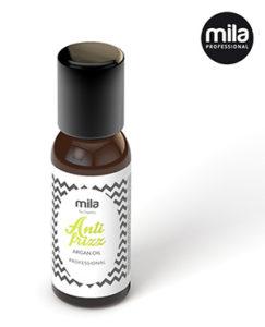 Mila anti-frizz argan oil butelka