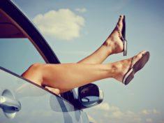 Lekkie nogi w podróży