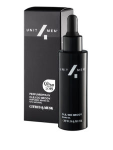 Unit4Men Perfumowany olej do brody
