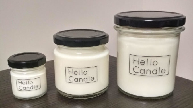 Naturalne świece sojowe Hello Candle